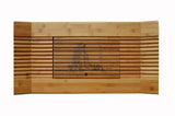 Traditional Chinese Bamboo Tea Culture Serving Tray