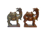 pair of stone camel