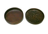 Chinese Handmade Metal Bronze Color Trinket Box