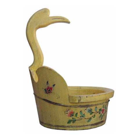 yellow bucket - duck head bucket - oriental bucket