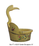 duck head bucket - yellow bucket - oriental bucket