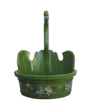 Duck head bucket - green bucket - oriental bucket