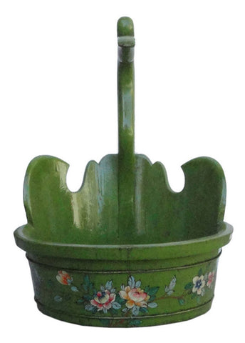 green bucket - duck head bucket - oriental bucket