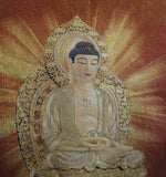 Chinese Shakyamuni Buddha Loom Tapestry Art cs1122AS