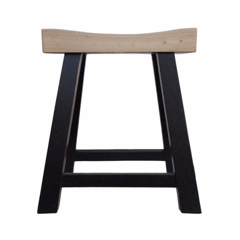 u shape wood chair