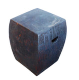 Chinese square clay stool