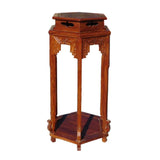 rosewood flower stand