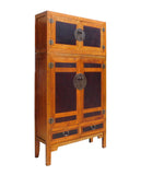Chinese Tall Stack Compound Cabinet Armorie Wardrobe cs1343S