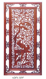 wall panel - room divider -  wood wall art