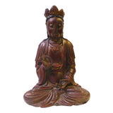 Wood Kwan Yin - Bodhisattva -  goddess of mercy - goddess of compassion