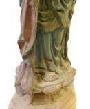 carved wood Kwan Yin
