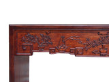 Chinese Relief Dimensional Carving Console Altar Table cs1510S