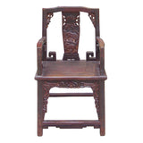 antique Chinese village chair