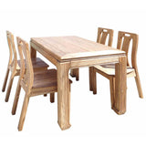 rosewood dinning table with eight chairs