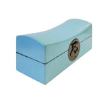 Chinese Pastel Blue Pillow Shape Container Box cs1785-1S