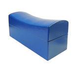 Chinese Bright Blue Pillow Shape Container Box cs1794S