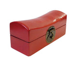 Chinese Red Pillow Shape Container Box cs1797S