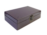 Chinese Purple Rectangular Shape Container Box cs1798S