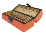 pillow box - orange box - Chinese box