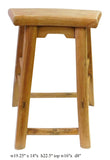 wood stool - rustic stool - short stool