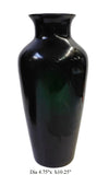 green vase - glass vase - chinese vase