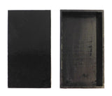 rectangular box - black box - Chinese box