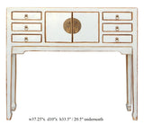 slim table -foyer table -console table