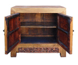 brown cabinet - side table - Chinese sideboard