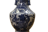blue white vase - porcelain vase - Chinese pottery