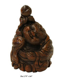 bamboo art - Chinese carving - oriental figure