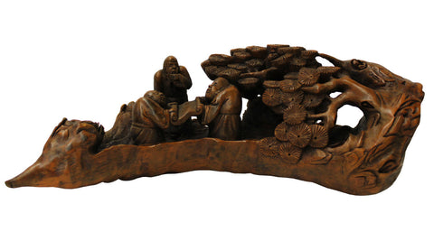 bamboo art - Chinese carving - Asian art