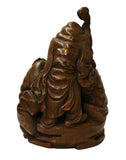 bamboo art - Chinese carving - people figure