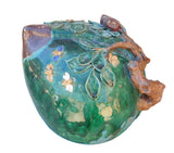 Ceramic Peach - Longevity - Green Peach art