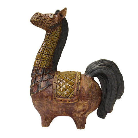 Ceramic Artistic Horse Cute Figure