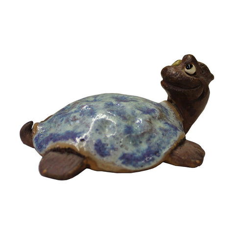 ceramic turtle - turtle figure - animal figure