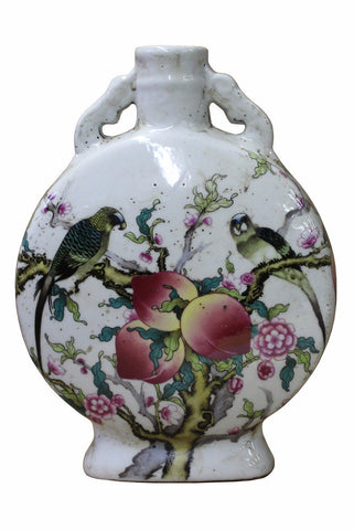 porcelain vase- porcelain container - porcelain holder