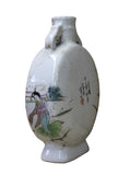 Chinese Oriental Scenery Print Graphic Ceramic Vase cs2202S