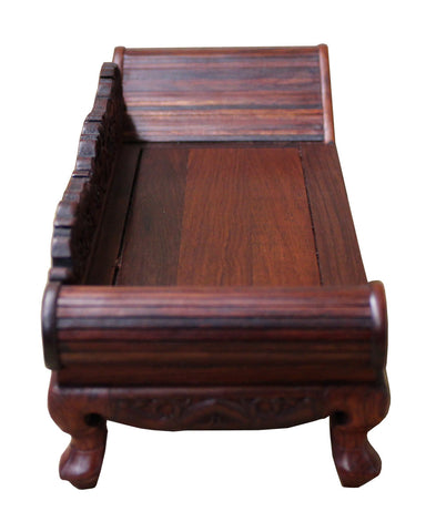 ... Chinese Rosewood Furniture Chaise Daybed Miniature Display cs2208S ... - Chinese Rosewood Furniture Chaise Daybed Miniature Display Cs2208S