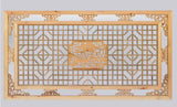 wall panel - wood plaque - Chinese carving