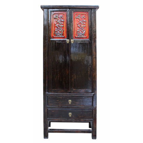 Chinese antique tall cabinet
