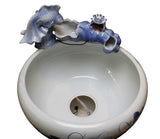 fountain - porcelain fountain - indoor fountain