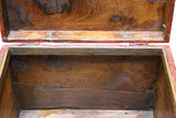 vintage trunk - chest - wood box