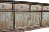 Console table - buffet table - Distressed Gray