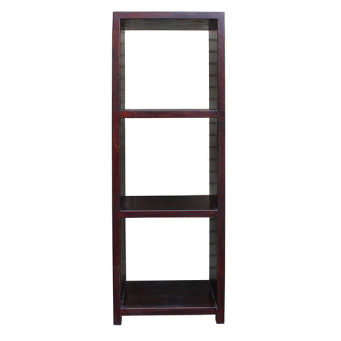 rustic simple design narrow display cabinet