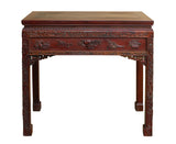 rosewood table - Chinese table - carving side table