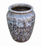 stone pot - flower vase - Chinese pot