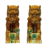 ceramic foo dog statue