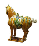 clay horse - Chinese horse - horse figure