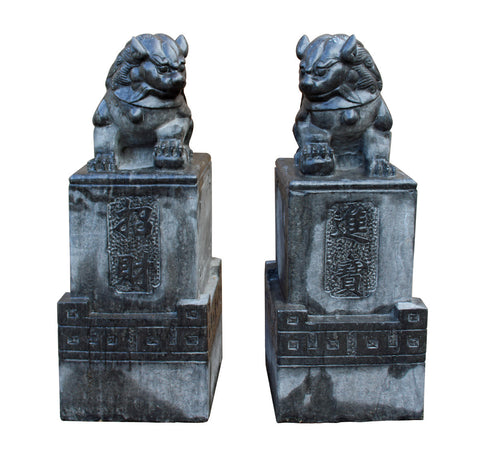 Stone Foo Dogs - Fensghui - Chinese lions