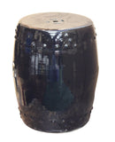 black stool - porcelain stool - side table